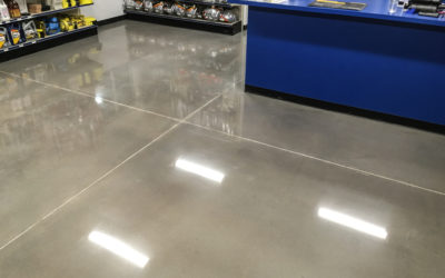 The Ins and Outs of Concrete Floor Polishing
