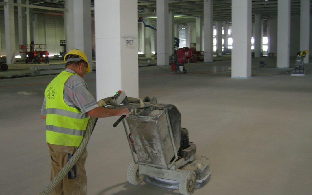 Indoor Concrete Removal