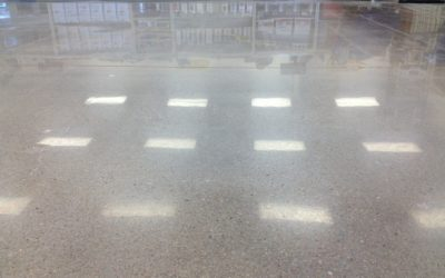 5 Benefits to A Polished Concrete Work Surface